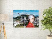 Mozart Kunstposter 40x30 cm Souvenir-Geschenk-Andenken-Sammlerstück