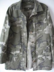 Bluse mitTarnmuster-Camouflage