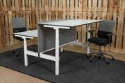 Bürotisch Schreibtisch Doppelschreibtisch Ceka