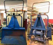 Seilwinde Unimog Traktor Rotzler Getriebeseilwinde