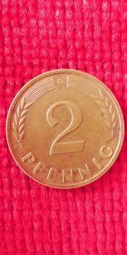 1963 D 2 pfennig nicht