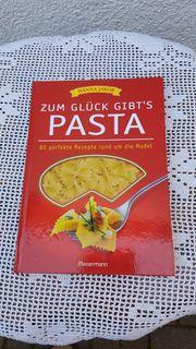 Neuwertiges modernes Kochbuch Zum Glück