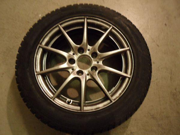 4 Pirelli Winterreifen mit Alufelgen