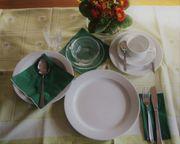 Gastronomie-Geschirr mit Zubehör