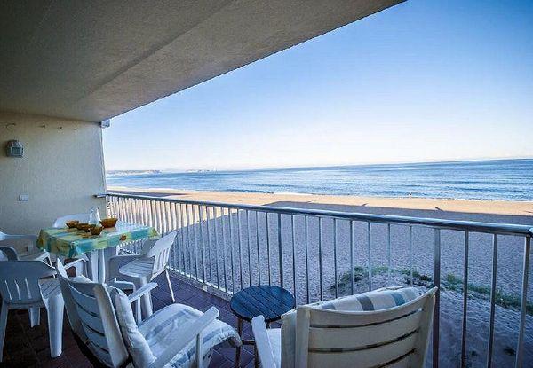 Spanien Ferienwohnung am Strand des