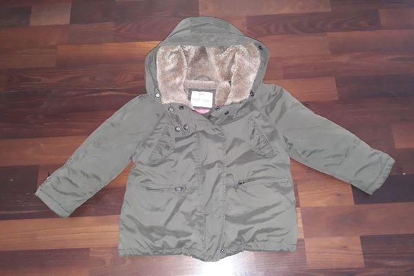 Zara Winter Jacke Gr 110