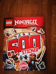 Neues Rätselstickerbuch Lego Ninjago