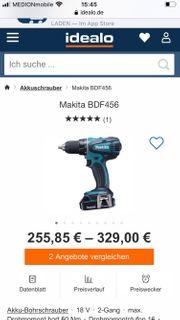 Makita BDF456 Akkuschrauber mit Schnellladege