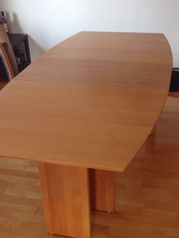 Esszimmertisch Massivholz 4 Stühle 1