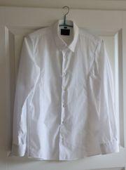 Weißes Hemd Langarm 164 170