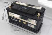 100 kompatible LiFePo4 Untersitzbatterie 100AH