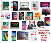 Restposten Smart und i Phons-TV-Notebooks-Soundanlagen