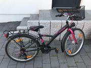 Mädchenfahrrad Trekkingrad 24 Zoll B