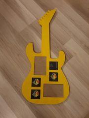 Gitarre für Fotosammlung