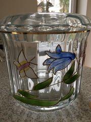 Kristall Bowleservice im Tiffanystil - von