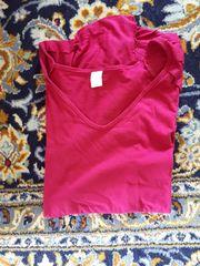 Kurzarm-T-Shirt Gr 50 52 pink