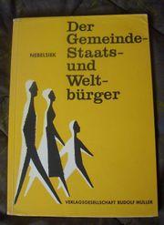 Buch - Der Gemeinde-Staats-und Welt-bürger von