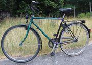 Grün-Schwarzes 5 Gang Herrenrad 28