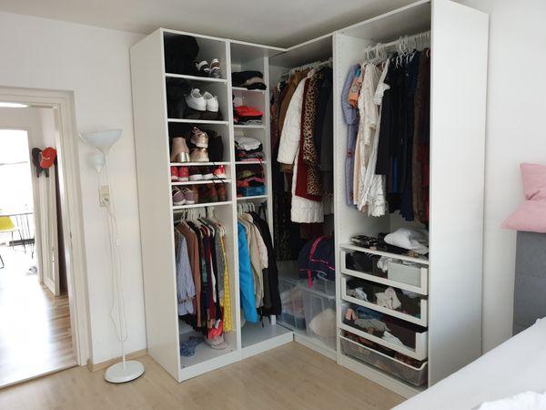 Kleiderschrank Eckkleiderschrank In Nurnberg Ikea Mobel Kaufen