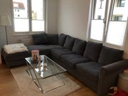 Ikea Couch Sofa mit Hocker