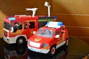 Playmobil Feuerwehrautos