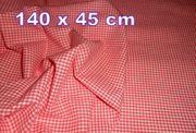 4 x Baumwoll-Stoff pflegeleichte Material