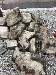 Dekosteine Mauersteine
