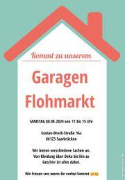 Garagen Flohmarkt Second Hand in
