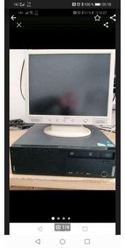 PC Komplett mit Bildschirm und