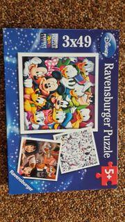 Ravensburger Puzzle 3x49 Disney