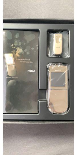 Nokia Handy - Nokia 8800 Sirocco in Gold