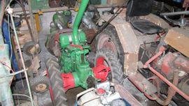 Traktoren, Landwirtschaftliche Fahrzeuge - Agria 1700 Diesel Einachser Traktor