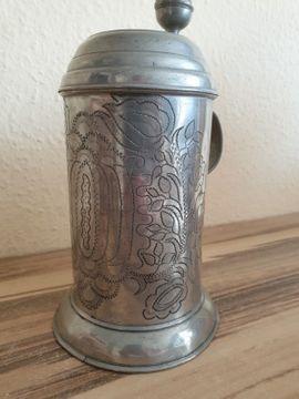 Sonstige Antiquitäten - Barock Bierkrug von 1793 - Original
