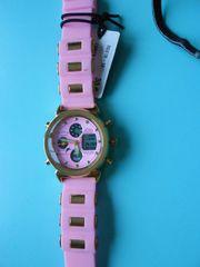 Neuer moderner Damen Chronograph Edelstahl