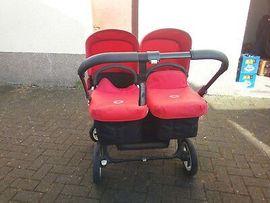 Kinderwagen - Gebrauchter Bugaboo Donkey - Zwillingskinderwagen Lieferung