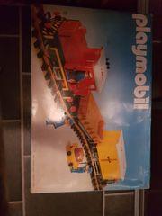Diverse Playmobil Eisenbahnartikel aus 80
