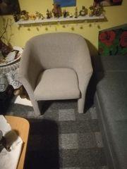 Couch als Doppelbett und einen