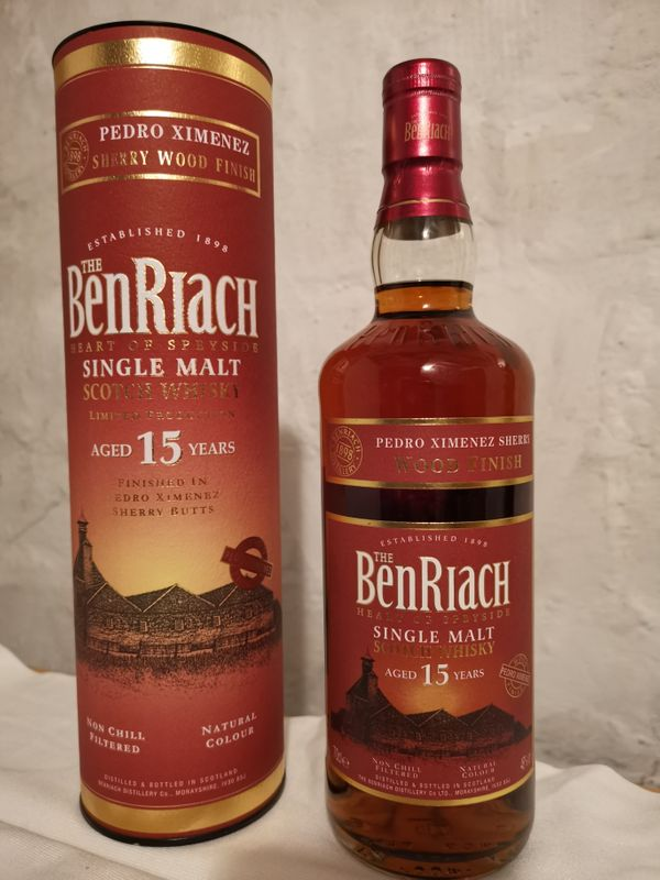 Whisky Ben Riach 15 Jahre