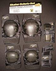 Sport Schutzausrüstungs-Set Knie- Ellenbogen- Handgelenkschoner