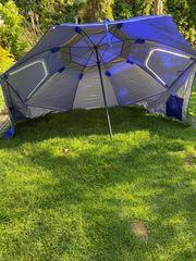 Strandschirm Umbrella Sonnenschutz Sonnenschirm