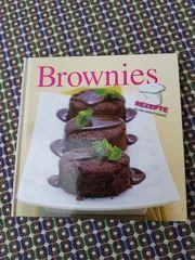 Modernes neuwertiges Backbuch Brownies