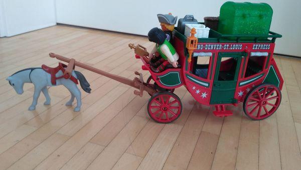 Playmobil Wilder Westen Pferdekutsche