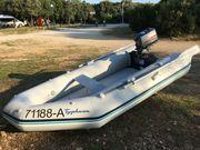 Schlauchboot mit 4-PS Motor u