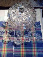 Bowle Set mit Gläser