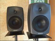 Genelec 8040a Studiomonitore inklusive Stative