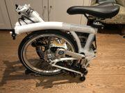 Brompton Folding Bike - White ML6