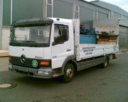 LKW Atego 817 Pritschenwagen