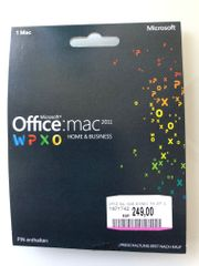 MS Office Mac 2011