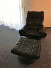 Rolf Benz TV-Sessel mit Beinauflage