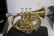 Trompete Blechblasinstrument Musiker Taschentrompete im